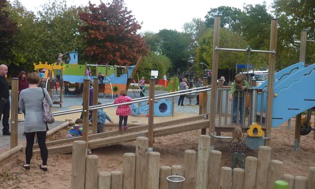 The Recreation Ground Stratford Upon Avon Playground