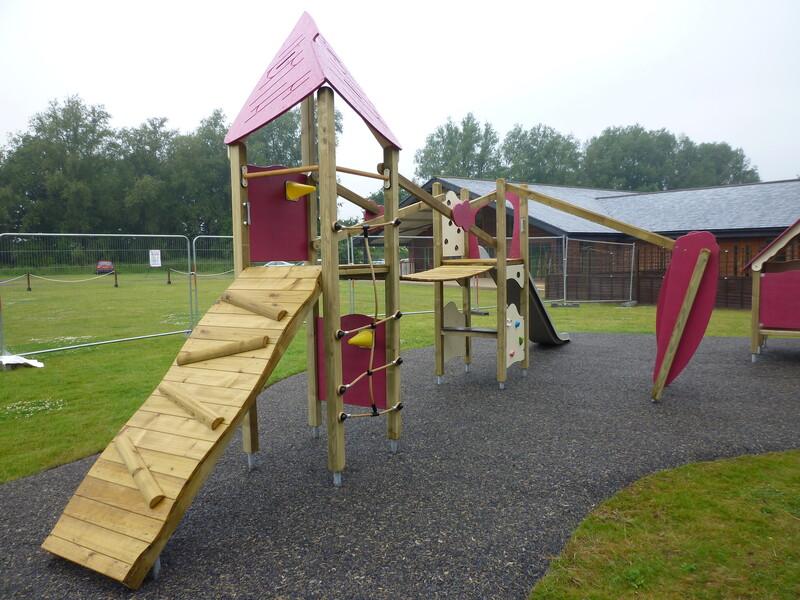 Benton Hall Play Area